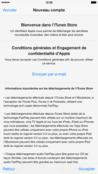 Apple iPhone 6 Plus - Applications - Créer un compte - Étape 11