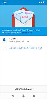 Motorola Moto G7 - Email - Como configurar seu celular para receber e enviar e-mails - Etapa 12
