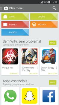 Samsung N910F Galaxy Note 4 - Aplicativos - Como baixar aplicativos - Etapa 4