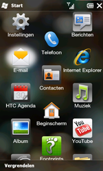 HTC T8585 HD II - E-mail - hoe te versturen - Stap 3