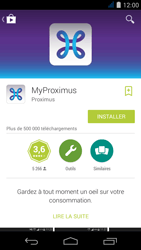 Acer Liquid Jade S - Applications - MyProximus - Étape 8