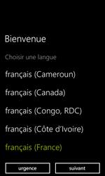 Nokia Lumia 635 - Premiers pas - Créer un compte - Étape 2