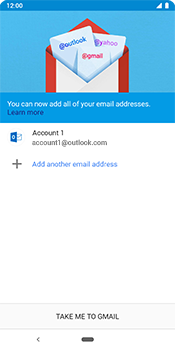 Google Pixel 3 - Email - 032c. Email wizard - Outlook - Step 12