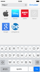 Apple iPhone 5c - Internet - Hoe te internetten - Stap 16