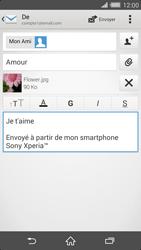 Sony Xperia Z2 - E-mails - Envoyer un e-mail - Étape 15