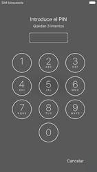 Apple iPhone 6s iOS 9 - Primeros pasos - Activar el equipo - Paso 4