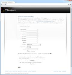 BlackBerry 9800 Torch - Software - Update installeren via PC - Stap 3