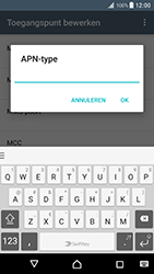 Sony Xperia XZ Premium - Internet - handmatig instellen - Stap 18