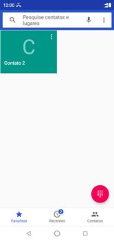 Motorola One - Chamadas - Como bloquear chamadas de um número específico - Etapa 4