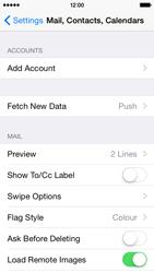 Apple iPhone 5s - iOS 8 - E-mail - Manual configuration (yahoo) - Step 4