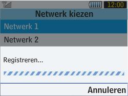 Samsung S3570 Chat 357 - Bellen - in het buitenland - Stap 9