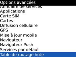 BlackBerry 8520 Curve - Paramètres - Reçus par SMS - Étape 5