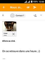 Alcatel U3 - E-mails - Envoyer un e-mail - Étape 16