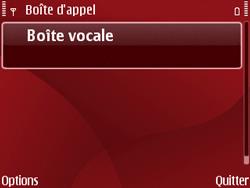 Nokia E63 - Messagerie vocale - Configuration manuelle - Étape 5