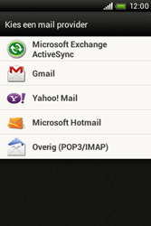 HTC A320e Desire C - E-mail - Handmatig instellen - Stap 5