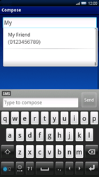 Sony Ericsson Xperia X10 - Mms - Sending a picture message - Step 5