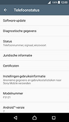 Sony Xperia X (F5121) - Android Nougat - Software updaten - Update installeren - Stap 5