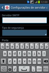 Samsung S6293T Galaxy Young Plus - Email - Como configurar seu celular para receber e enviar e-mails - Etapa 12