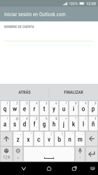 HTC One A9 - E-mail - Configurar Outlook.com - Paso 10
