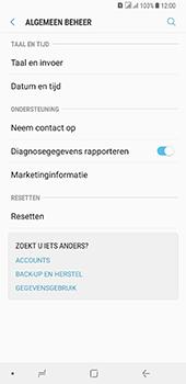 Samsung Galaxy A8 Plus - Toestel reset - terugzetten naar fabrieksinstellingen - Stap 5
