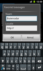 Samsung I9100 Galaxy S II - Internet - Internet gebruiken - Stap 9