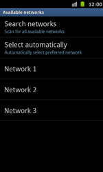 Samsung I9070 Galaxy S Advance - Network - Usage across the border - Step 8