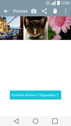 LG Leon - Bluetooth - Transferir archivos a través de Bluetooth - Paso 11