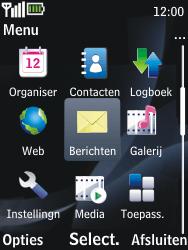 Nokia 2730 classic - E-mail - handmatig instellen - Stap 3