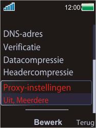 Sony Ericsson W595 - Internet - Handmatig instellen - Stap 13