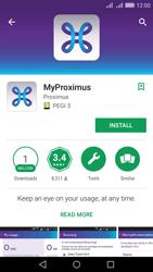 Huawei Y6 II - Applications - MyProximus - Step 6
