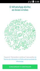 Huawei Ascend Y625 - Aplicações - Como configurar o WhatsApp -  5