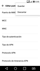 LG K4 (2017) - Internet - Configurar Internet - Paso 16