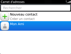 BlackBerry 9720 - Contact, Appels, SMS/MMS - Ajouter un contact - Étape 9