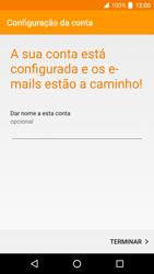 Alcatel Idol 4 VR - Email - Adicionar conta de email -  13