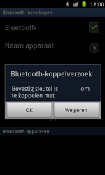 Samsung I9070 Galaxy S Advance - Bluetooth - Headset, carkit verbinding - Stap 9