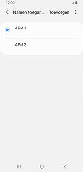 Samsung Galaxy S9 Android Pie - MMS - handmatig instellen - Stap 16