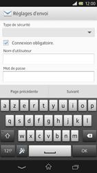 Sony Xpéria Z - E-mails - Ajouter ou modifier un compte e-mail - Étape 11