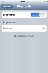 Apple iPhone 4 - Bluetooth - headset, carkit verbinding - Stap 5