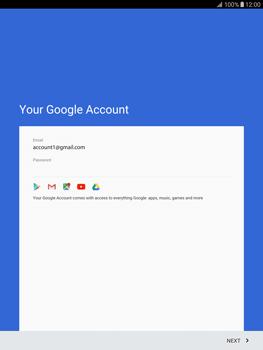 Samsung T815 Galaxy Tab S2 9.7 - Applications - Create an account - Step 16