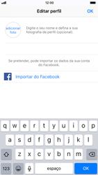 Apple iPhone 6s - iOS 11 - Aplicações - Como configurar o WhatsApp -  13