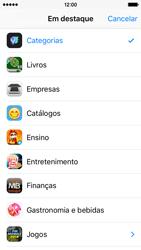 Apple iPhone 5s iOS 9 - Aplicações - Como pesquisar e instalar aplicações -  4