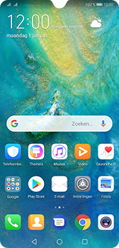 Huawei Mate 20 - Data - Maak een back-up met je account - Stap 1