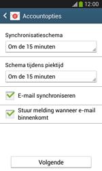 Samsung G3500 Galaxy Core Plus - E-mail - handmatig instellen - Stap 17