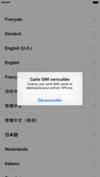 Apple iPhone 6 Plus iOS 8 - Premiers pas - Créer un compte - Étape 3
