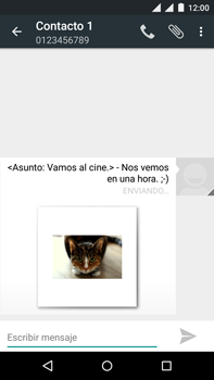 Motorola Moto X Play - Mensajería - Escribir y enviar un mensaje multimedia - Paso 19