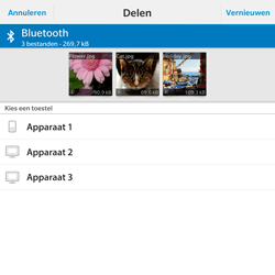 BlackBerry Passport - Contacten en data - Foto