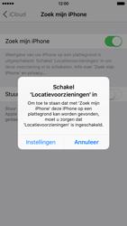 Apple iPhone 6 met iOS 9 (Model A1586) - Beveiliging en ouderlijk toezicht - Vind mijn iPhone inschakelen - Stap 6