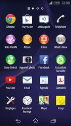 Sony Xperia E3 - MMS - envoi d'images - Étape 2