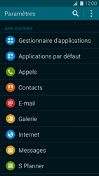 Samsung G800F Galaxy S5 Mini - Messagerie vocale - Configuration manuelle - Étape 4
