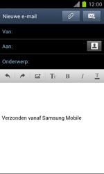 Samsung I9100 Galaxy S II met OS 4 ICS - E-mail - Hoe te versturen - Stap 6